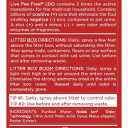 Live Odor Free!® Cat Litter 2X - Gallon