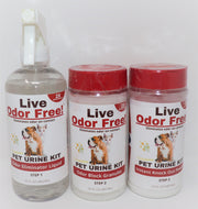 Live Odor Free!® 2x2 Pet Urine Spot Kit