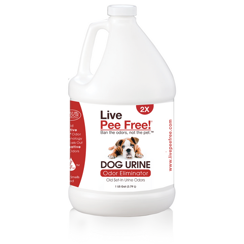 Live Odor Free!® Dog Urine 2X - Gallon
