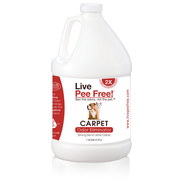 Live Odor Free!® Carpet Machine 2X - Gallon