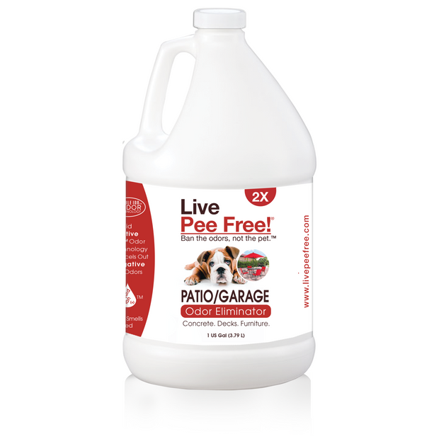 Live Odor Free!® Patio and Garage - Gallon