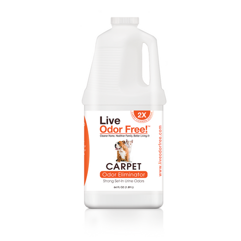 Live Odor Free!™ Carpet Odor Eliminator