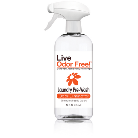 Live Odor Free!® Laundry