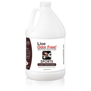 Live Odor Free!® Sports Equipment