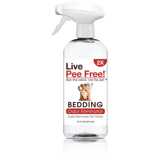 Live Pee Free!®  Pet Bedding Odor Eliminator 2X