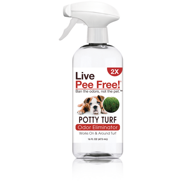Live Pee Free!® Turf Potty Odor Eliminator 2X