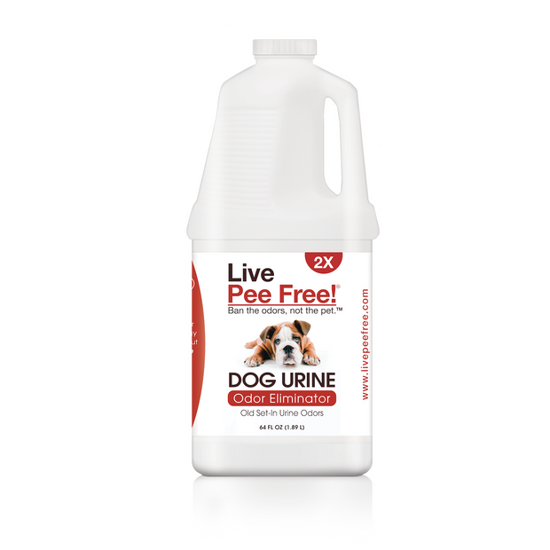 Live Odor Free!® Dog Urine 2X - 64 oz.