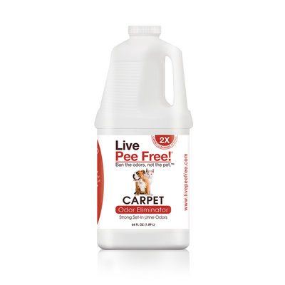 Live Pee Free!® Carpet Machine Odor Eliminator 2X