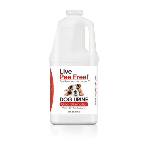 Live Pee Free!® Dog Urine Odor Eliminator - 64 oz