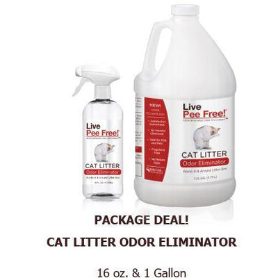 Package Deal: Cat Litter 16oz. & 1 Gallon