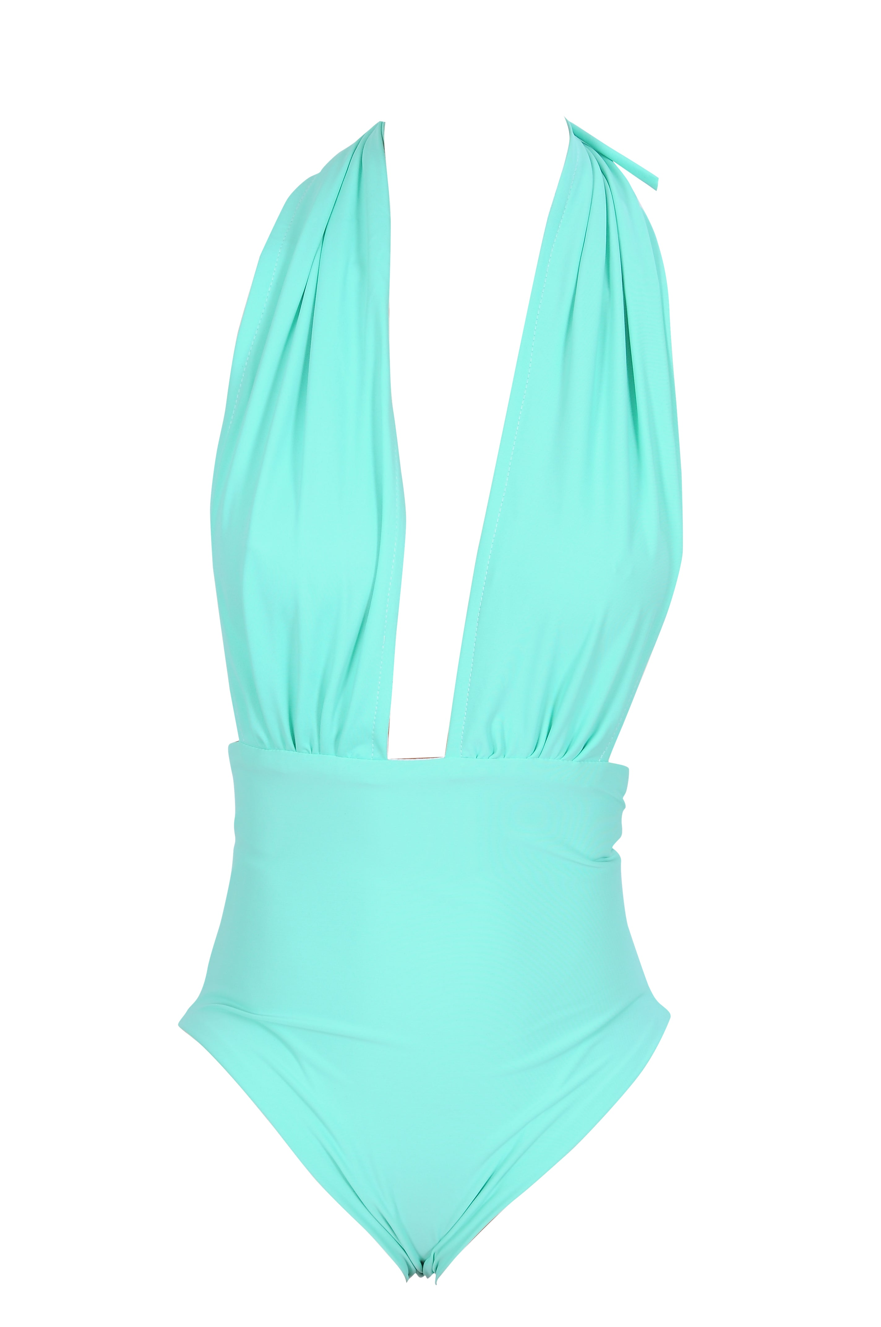 Bombshell swimsuit in Turquoise
