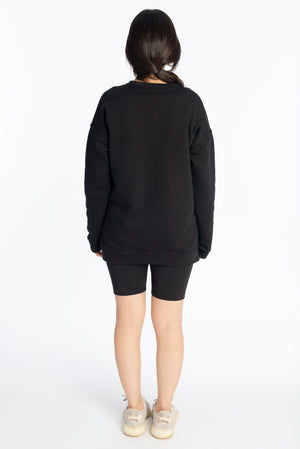 Long night sweatshirt
