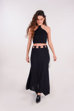 Metal beach skirt