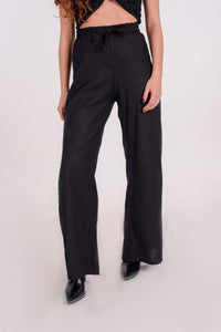 Exceptions pants in black