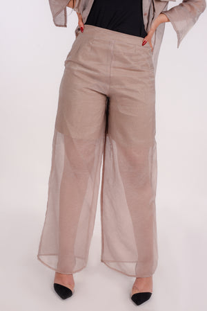 Conquer pants in beige