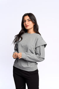 Fly sweatshirt in grey