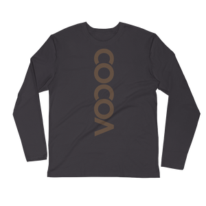 COCOACURE Long Sleeve Fitted Crew