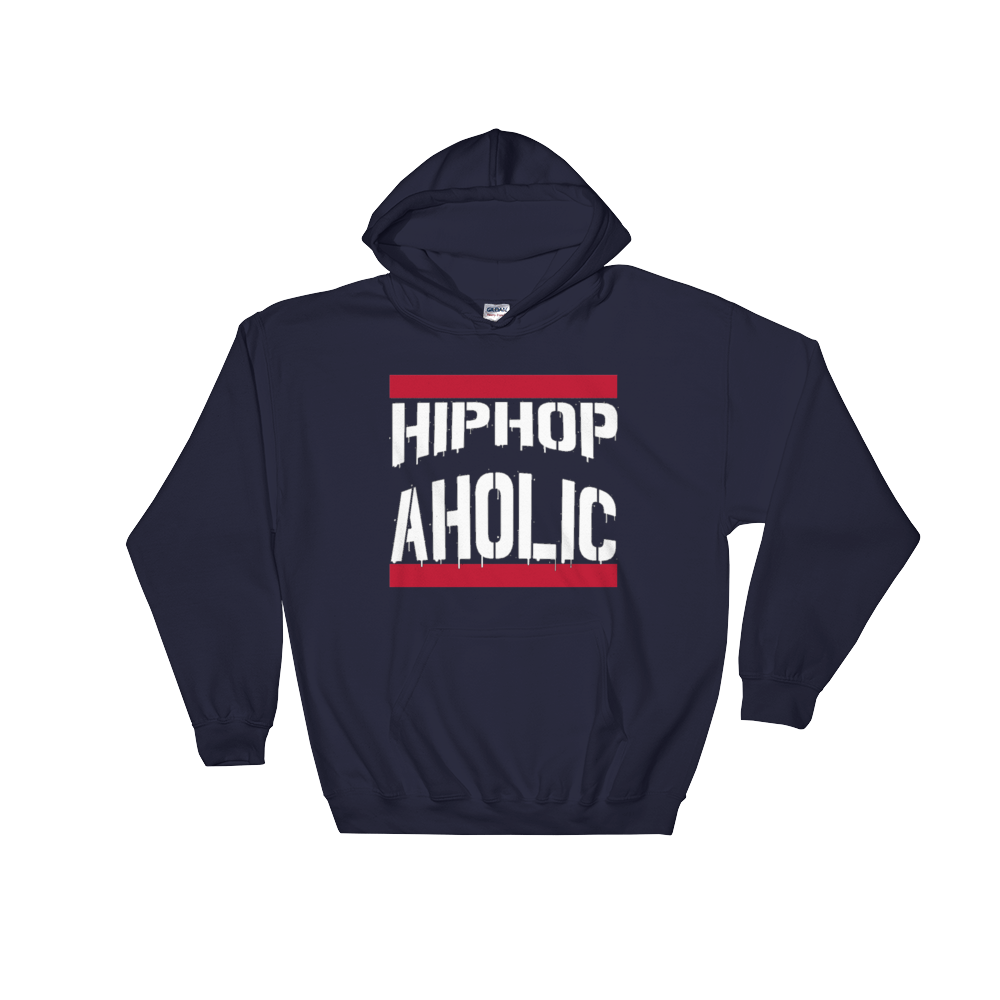 """Hip Hop Aholic"" Hooded Sweatshirt ~"