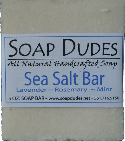 Sea Salt Soap Bar