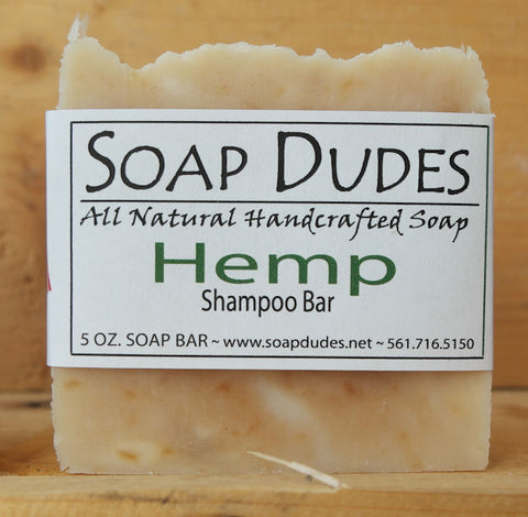 Organic Hemp Shampoo Bar