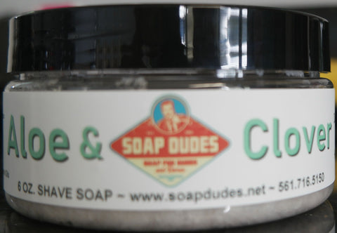Aloe & Clover Shave Soap