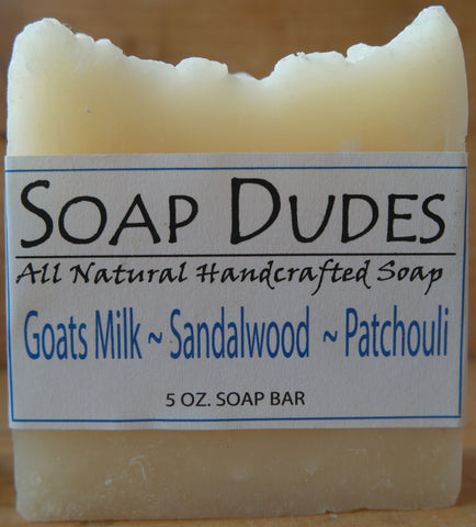 Goats Milk, Sandalwood & Patchouli