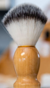 Wooden Handle Shave Brush