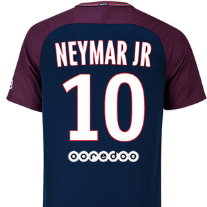 reputable site c389b 30dc7 Neymar Jr #10 PSG Jersey Home/Away - From S to XL
