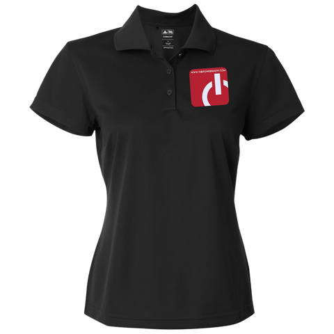 Power Inc Adidas Golf Women's ClimaLite Basic Performance Pique Polo
