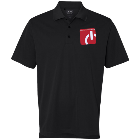 Men's Power Inc Adidas Golf ClimaLite Basic Performance Pique Polo