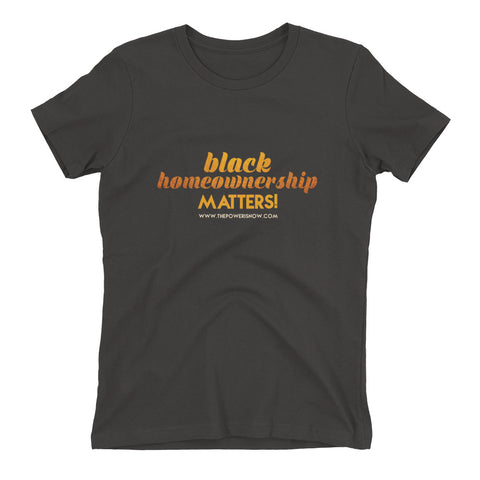 Ladies Black Homeownership