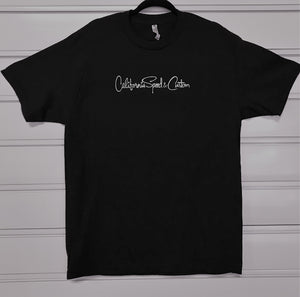 T-Shirt Mens XX Large Black California Speed and Custom, Huntington Beach CA