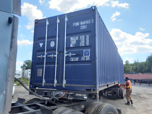 20' Standard Shipping Container - FCBU8641031