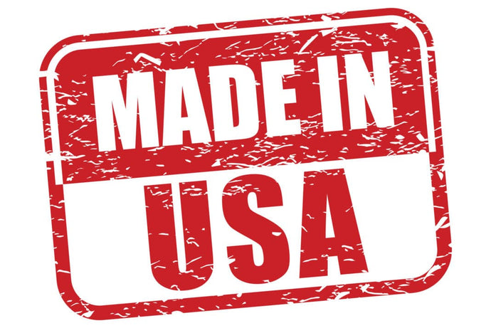 Our products are Made in the USA.