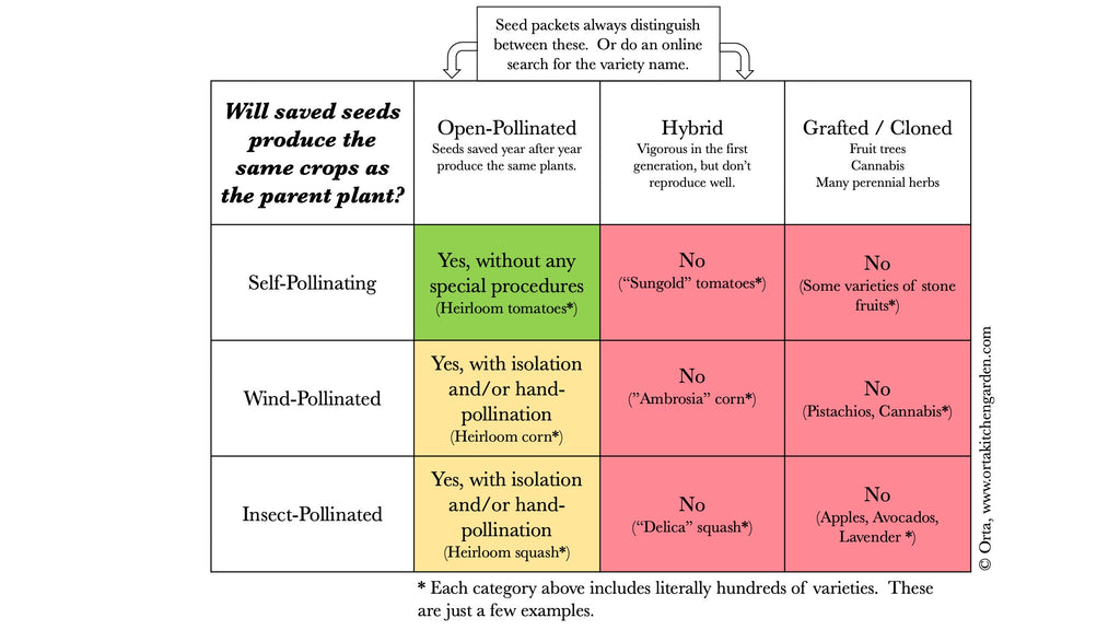 should you save seed chart