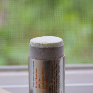 Gardener's Sunscreen, SPF 35+ in plastic-free packaging