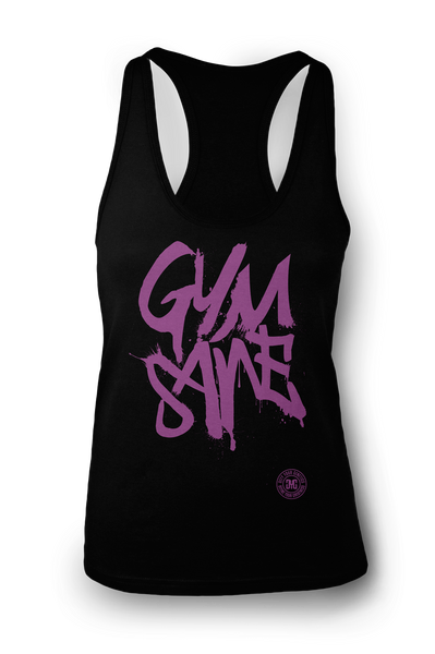 Ladies GYMSANE racerbacks by LFTHVY™ - BLK N LAV