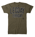 LEGDAY ERRDAY by  LFTHVY™ FOCUS GREEN colorway / ONLY 3X AND XL LEFT