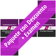 ITIL 4 Foundation: Course Value Pack + Exam [Graphic]