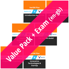 VeriSM Plus: Course Value Pack + Exam (en-gb) [Graphic]