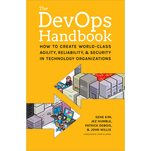 Amazon eBook: The DevOps Handbook (Kindle Edition) [Cover]