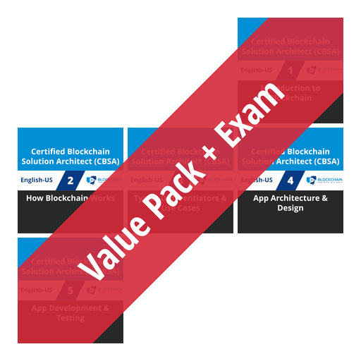 Certified Blockchain Solution Architect (CBSA): Course Value Pack + Exam [Cover]