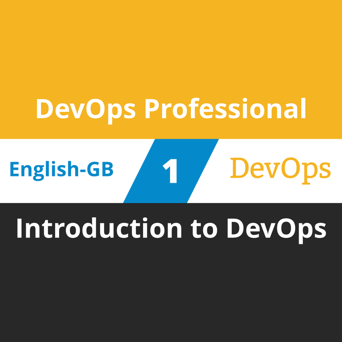 DevOps Professional Course - 1 of 6: Introduction to DevOps (en-gb) [Cover]