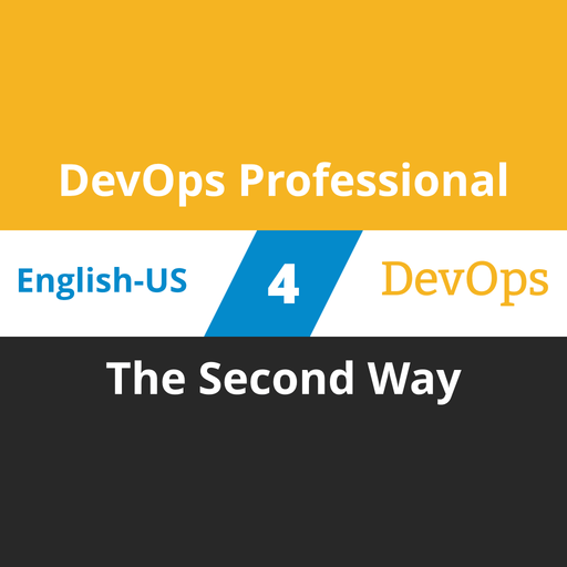 DevOps Professional Course - 4 of 6: The Second Way [Cover]