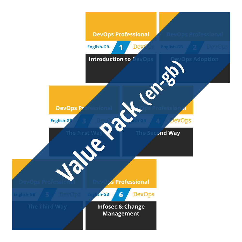 DevOps Professional: Course Value Pack (en-gb) [Cover]