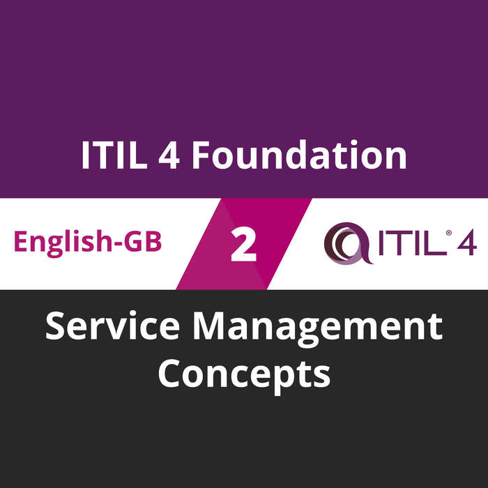 ITIL 4 Foundation Course - 2 of 5: Service Management Concepts (en-gb) [Cover]