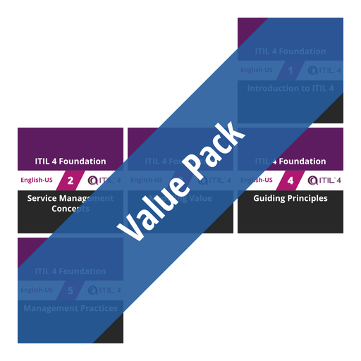 ITIL 4 Foundation: Course Value Pack [Cover]