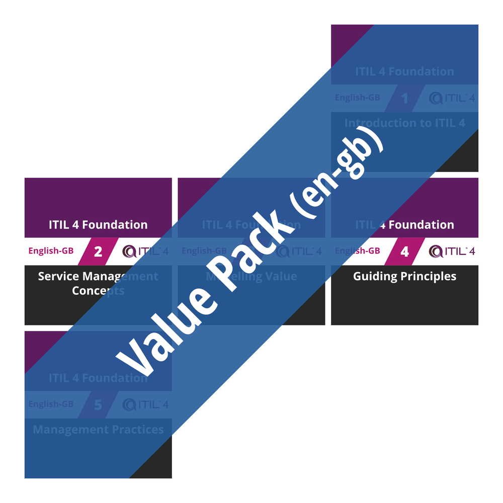 ITIL 4 Foundation: Course Value Pack (en-gb) [Cover]