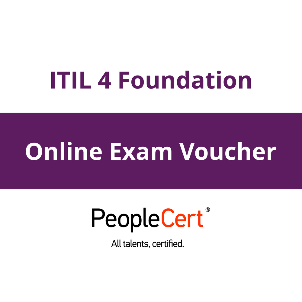ITIL 4 Foundation: Online Exam Voucher [Cover]