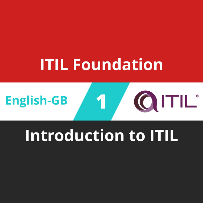 Itil Foundation Course 1 Of 8 Introduction To Itil En Gb Goodcert